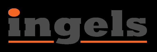 Ingels Logo hvid